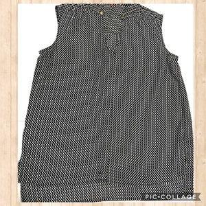 English laundry sleeveless blouse